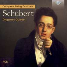 Franz Schubert (1797-1828): Sämtliche Streichquartette, 7 CDs