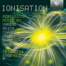 Tetraktis Ensemble - Ionisation, CD