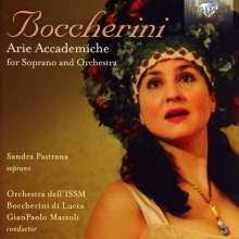 Luigi Boccherini (1743-1805): Arie Accademiche für Sopran & Orchester, CD