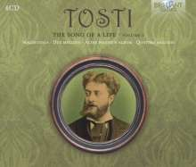 "Francesco  Paolo Tosti (1846-1916): Lieder ""The Song of a Life"" Vol.2, 4 CDs"