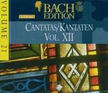 "Johann Sebastian Bach (1685-1750): Bach-Edition Vol.21 ""Kantaten XII"", 5 CDs"