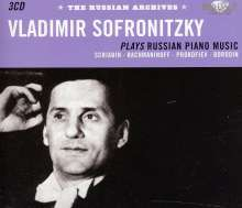 Vladimir Sofronitzky - The Russian Archives, 3 CDs