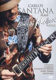 Santana: Carlos Santana Plays Blues At Montreux 2004, DVD