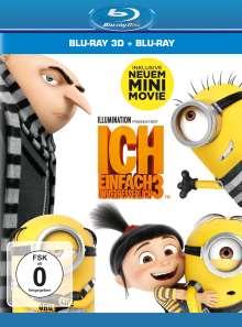 Ich - Einfach unverbesserlich 3 (3D & 2D Blu-ray), 2 Blu-ray Discs