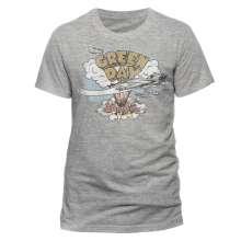 Green Day: Dookie (T-Shirt,Grau,Größe M), T-Shirt