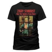 David Bowie: Telephone Box (T-Shirt,Schwarz,Größe S), T-Shirt
