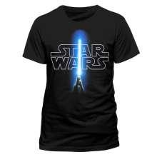 Star Wars: Logo & Saber (Gr.XL), T-Shirt