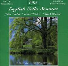 Jo Cole - English Cello Sonatas, 2 CDs