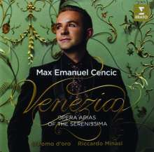 Max Emanuel Cencic - Venezia (Opera Arias of the Serenissima), CD