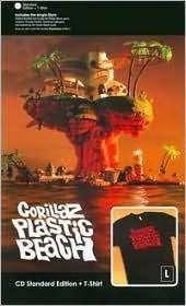 Gorillaz: Plastic Beach (+ T-Shirt Gr.L), CD