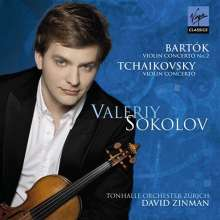 Valeriy Sokolov spielt Violinkonzerte, CD