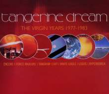 Tangerine Dream: The Virgin Years: 1977-1983, 5 CDs