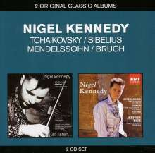 Nigel Kennedy spielt Violinkonzerte, 2 CDs