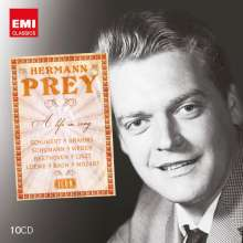 Hermann Prey - A Life in Song (Icon Series), 10 CDs