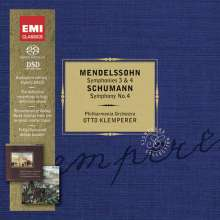 Felix Mendelssohn Bartholdy (1809-1847): Symphonien Nr.3 & 4, 2 SACDs