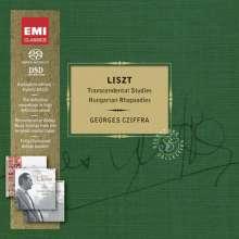 Franz Liszt (1811-1886): Ungarische Rhapsodien Nr.1-16,19, 3 SACDs