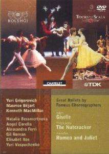 Great Ballets by Famous Choreographers, 3 DVDs