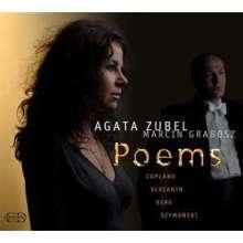 Agata Zubel - Poems, CD