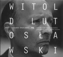 Witold Lutoslawski (1913-1994): Opera Omnia Vol.3, CD
