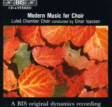 Lulea Chamber Choir - Modern Music, CD