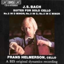 Johann Sebastian Bach (1685-1750): Cellosuiten BWV 1008,1009,1011, CD