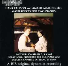 Hans Palsson & Amalie Malling, CD