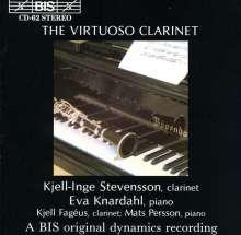 Kjell-Inge Stevensson - Virtuoso Clarinet, CD