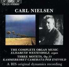 Carl Nielsen (1865-1931): Orgelwerke (Ges.-Aufn.), CD