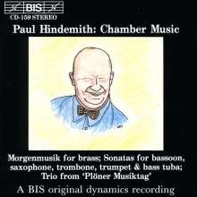 Paul Hindemith (1895-1963): Kammermusik für Bläser, CD