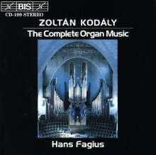 Zoltan Kodaly (1882-1967): Orgelwerke, CD