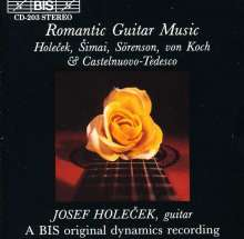 Josef Holecek - Romantic Guitar Music, CD
