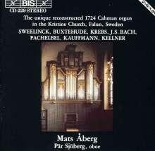 Mats Aberg,Orgel, CD