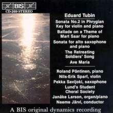 Eduard Tubin (1905-1982): Violinsonate Nr.2 (phrygisch), CD