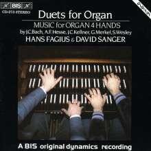 Musik für Orgel vierhändig, CD