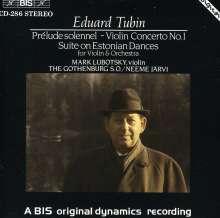 Eduard Tubin (1905-1982): Violinkonzert Nr.1, CD