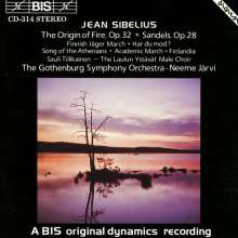Jean Sibelius (1865-1957): Die Entstehung des Feuers - Kantate op.32, CD