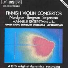 Hannele Segerstam spielt finnische Konzerte, CD