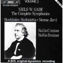Niels W. Gade (1817-1890): Symphonien Nr.1 & 8, CD
