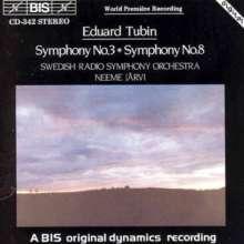 Eduard Tubin (1905-1982): Symphonien Nr.3 & 8, CD