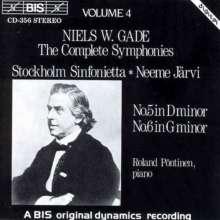 Niels W. Gade (1817-1890): Symphonien Nr.5 & 6, CD