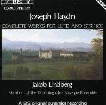 Joseph Haydn (1732-1809): Sämtliche Werke f.Laute & Streicher, CD