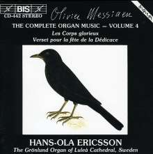 Olivier Messiaen (1908-1992): Orgelwerke Vol.4, CD