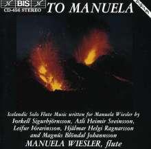 Manuela Wiesler - Isländische Flötenmusik, CD