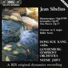Jean Sibelius (1865-1957): Konzertstücke f.Violine & Orchester, CD