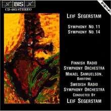 Leif Segerstam (geb. 1944): Symphonien Nr.11 & 14, CD