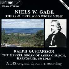 Niels W. Gade (1817-1890): Orgelwerke, CD