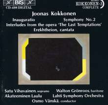 Joonas Kokkonen (1921-1996): Symphonie Nr.2, CD