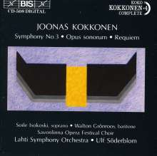 Joonas Kokkonen (1921-1996): Symphonie Nr.3, CD