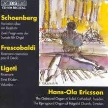 György Ligeti (1923-2006): Orgelwerke, CD