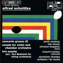 Alfred Schnittke (1934-1998): Concerto grosso Nr.3, CD